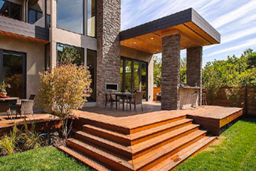 Desactivant beton trouvez le meilleur prix sur voir for Exemple d amenagement exterieur